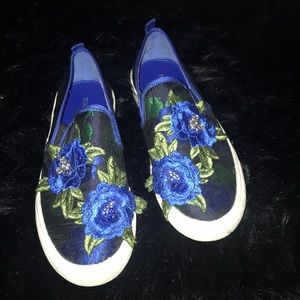 Top shop royal blue shoes